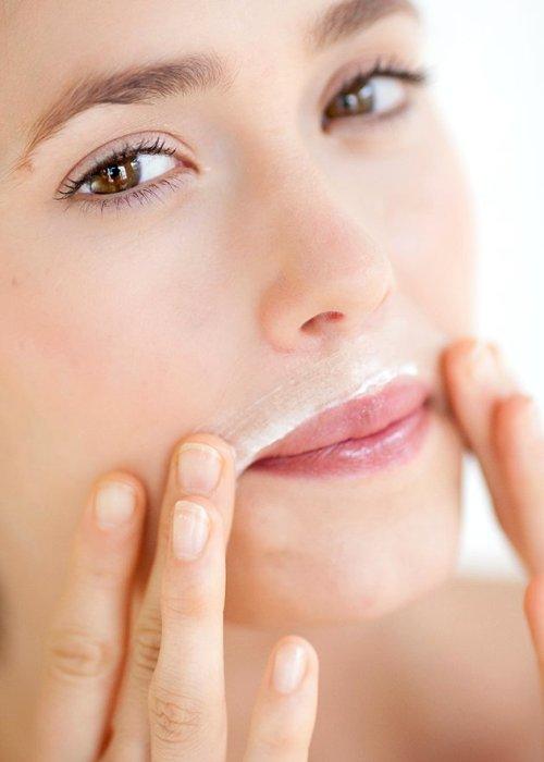 удаляем усы с лица