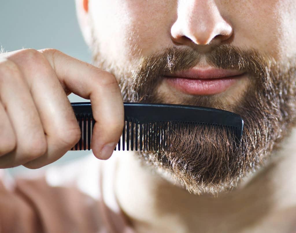 Как выпрямить волосы на бороде