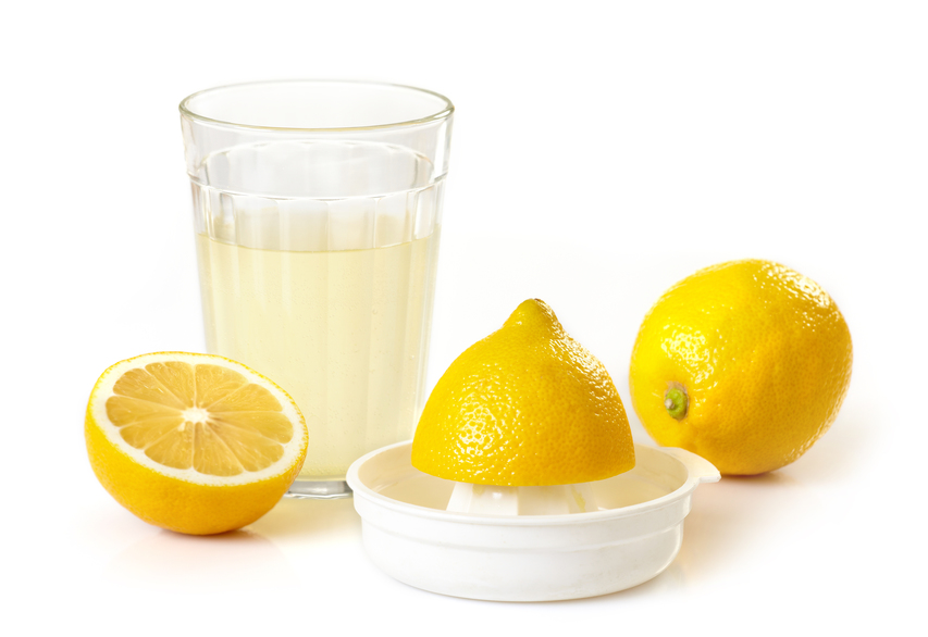 сок лимона для осветления бровей