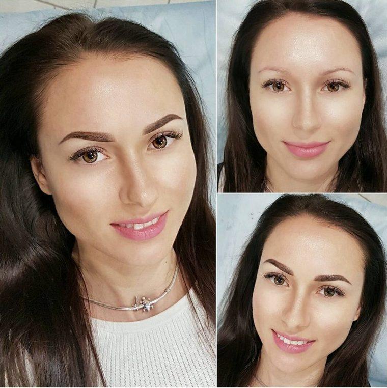 Как заживает перманентный макияж бровей?