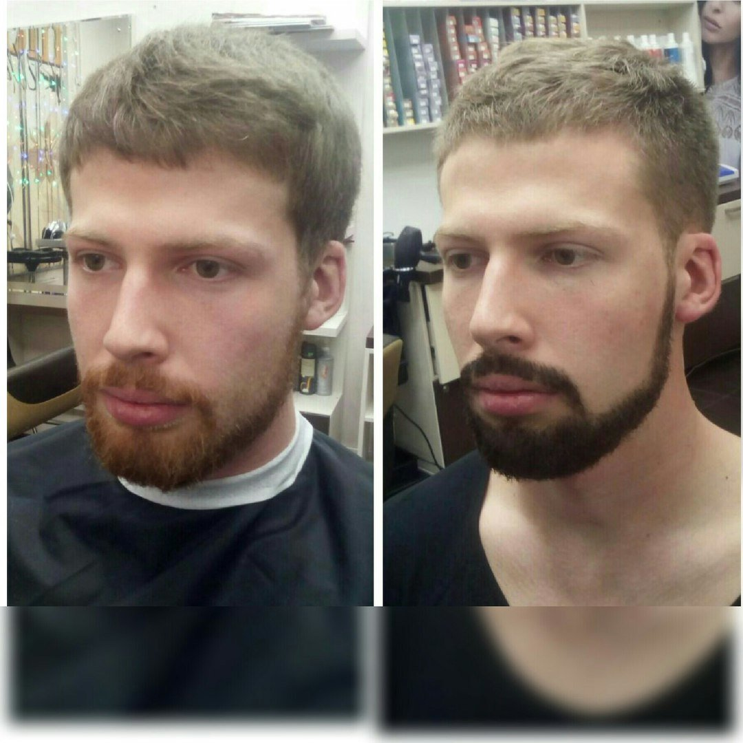 Эффективные способы окрашивания бороды для придания ей красивого вида