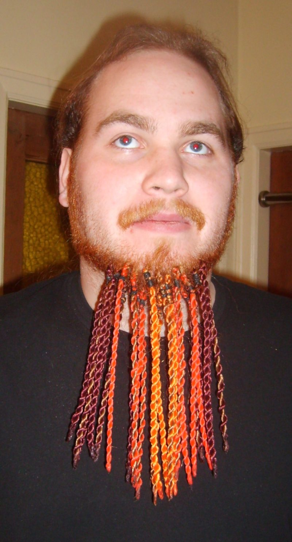 Борода в косичку