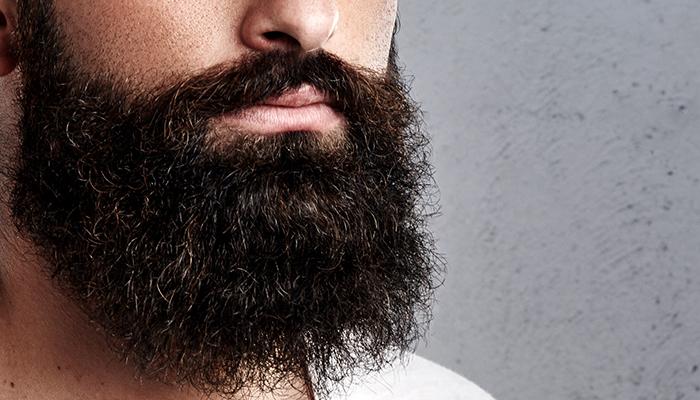 густая кудрявая борода