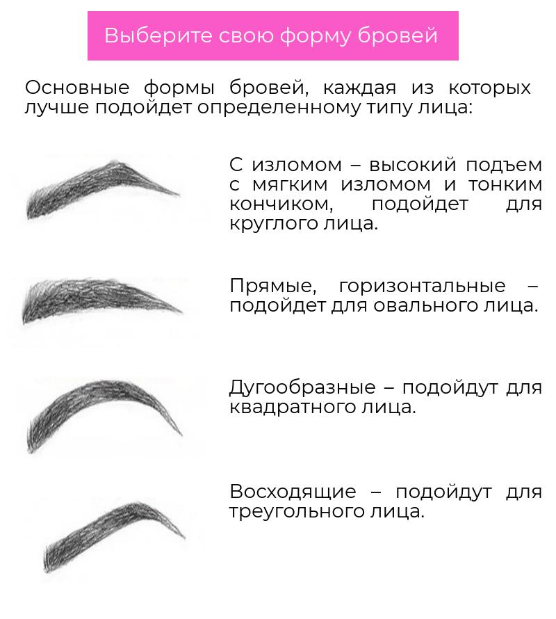 Оформление бровей