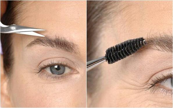 Как подстричь брови в домашних условиях женщине?