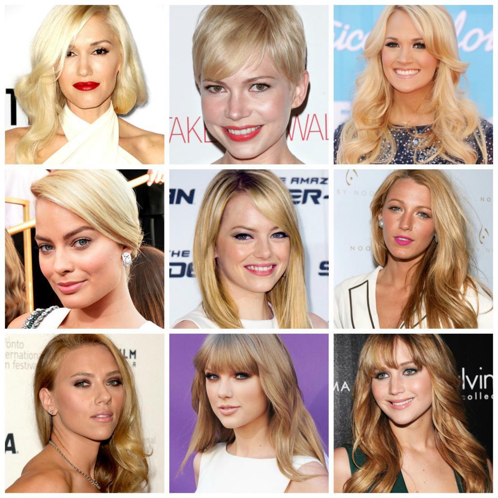 Удачные брови для блондинок