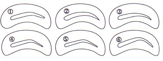 Трафарет для бровей - как выбрать и как использовать?