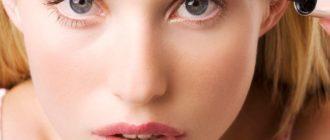 ухоженные женские брови
