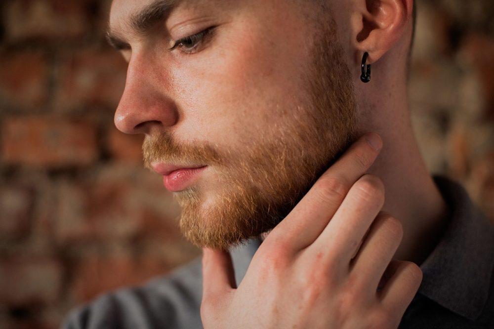 ухоженная борода у подростка