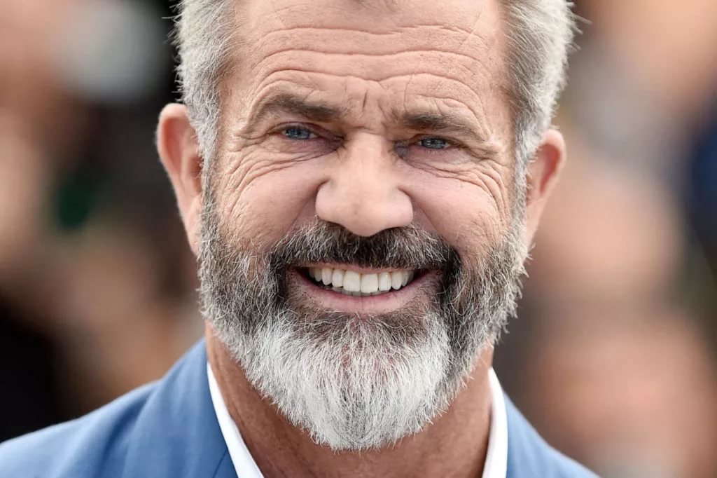 мел гибсон с бородой