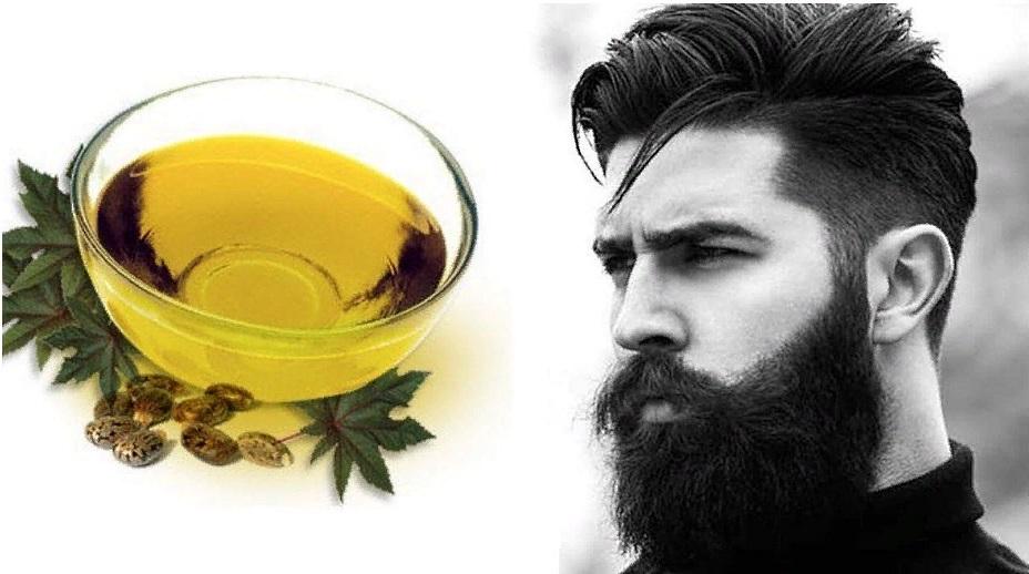 отращивание бороды с помощью касторового масла