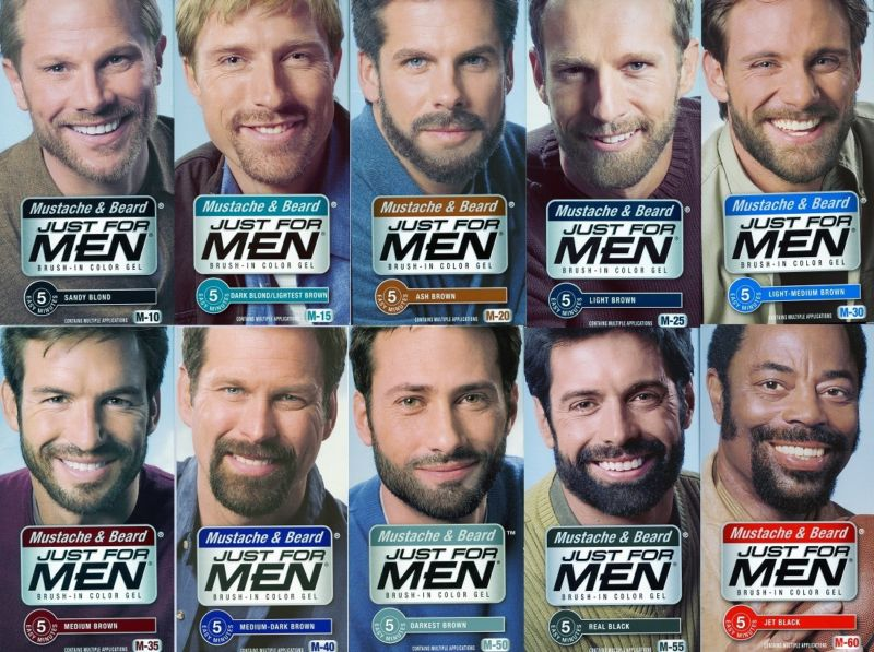 Just for man краска для бороды
