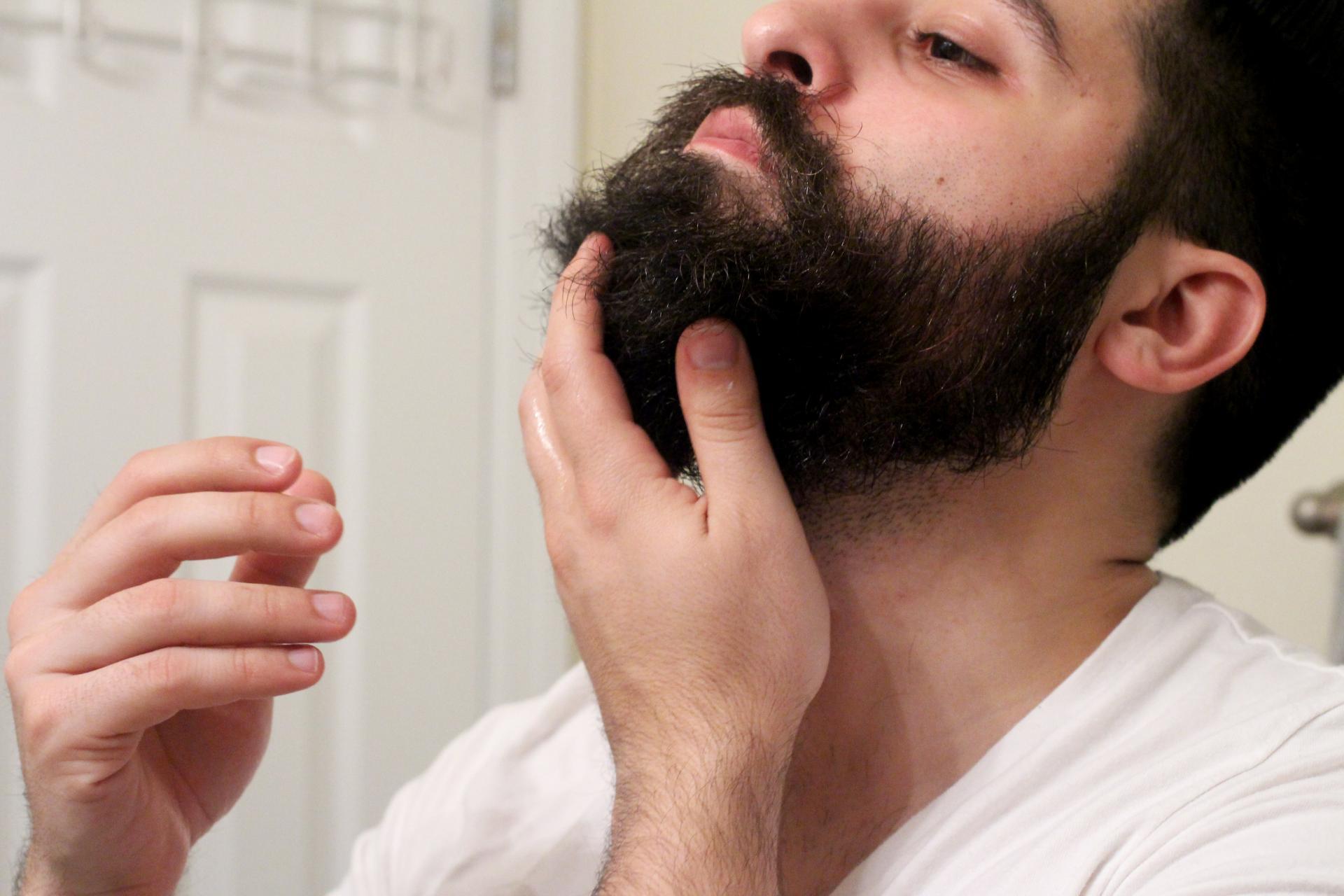 масла на бороду нанесение