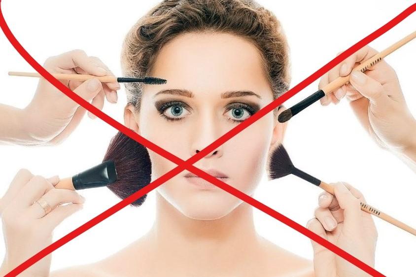 запрет на косметику