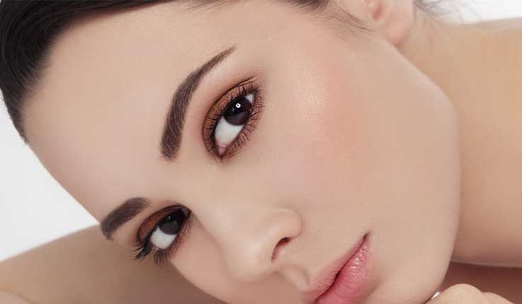 Перманентный макияж бровей по технике растушевки