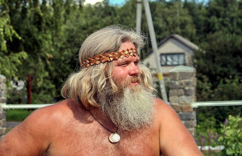 Борода у славян
