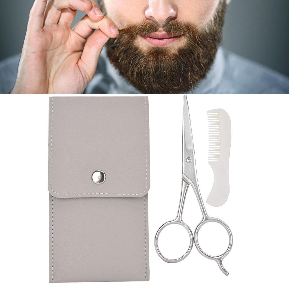 Ножницы для стрижки бороды и усов