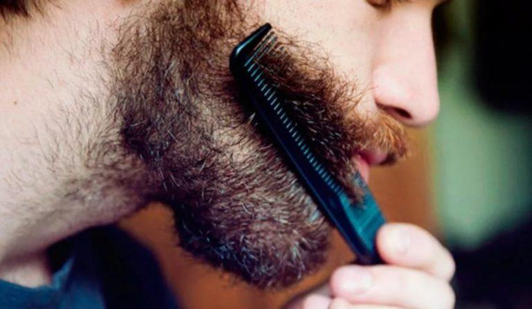 брить лицо триммером