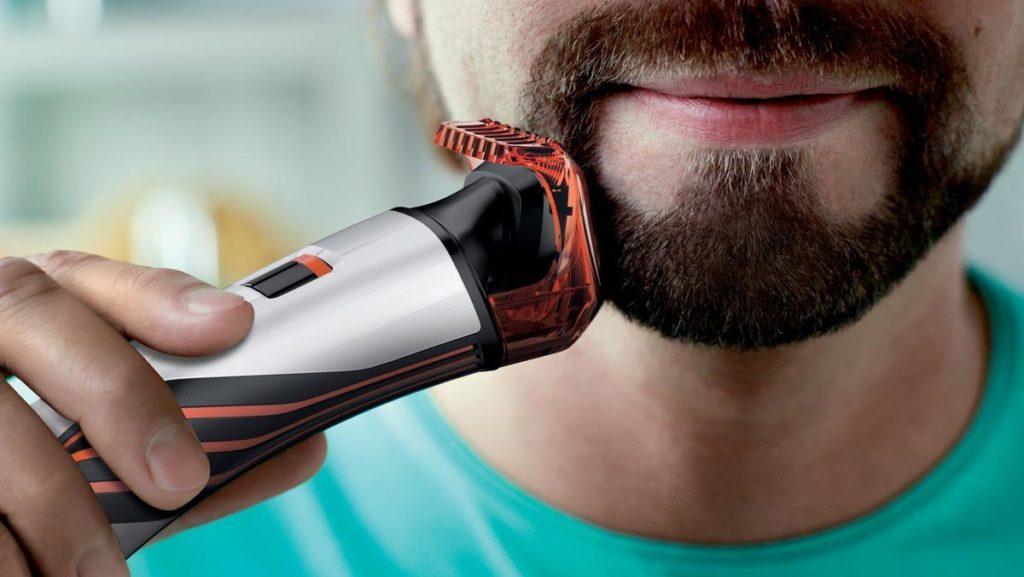 брить бороду триммером