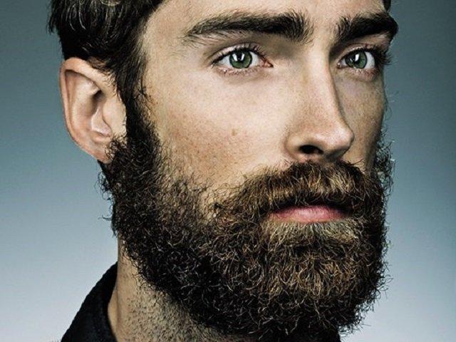 Кучерявая борода