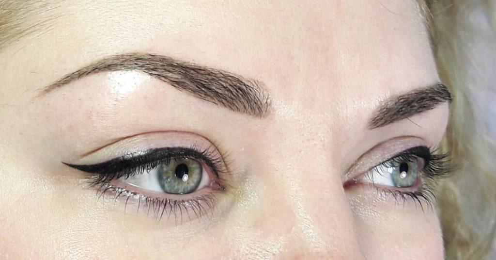 Пигменты для татуажа глаз