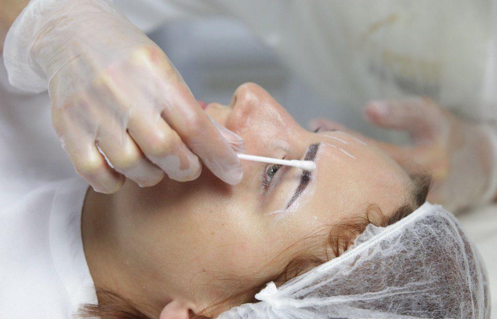 Анестезия бровей