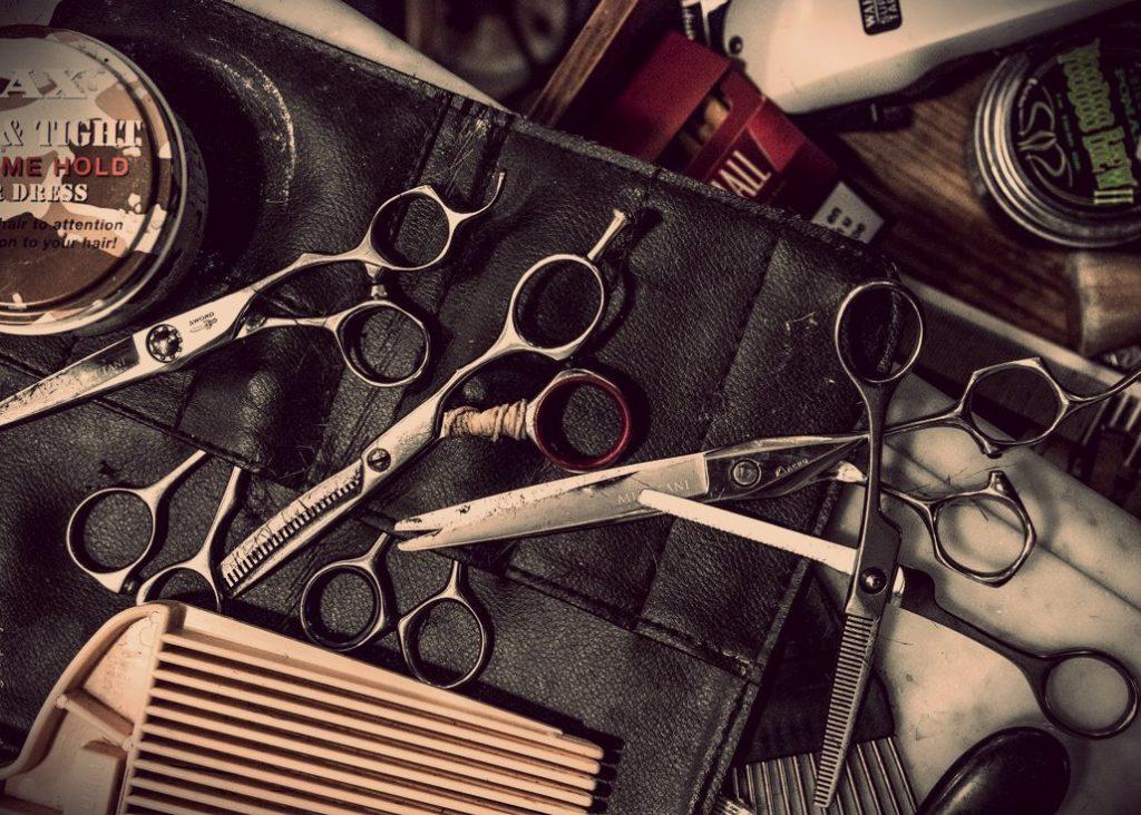 Ножницы для барбера