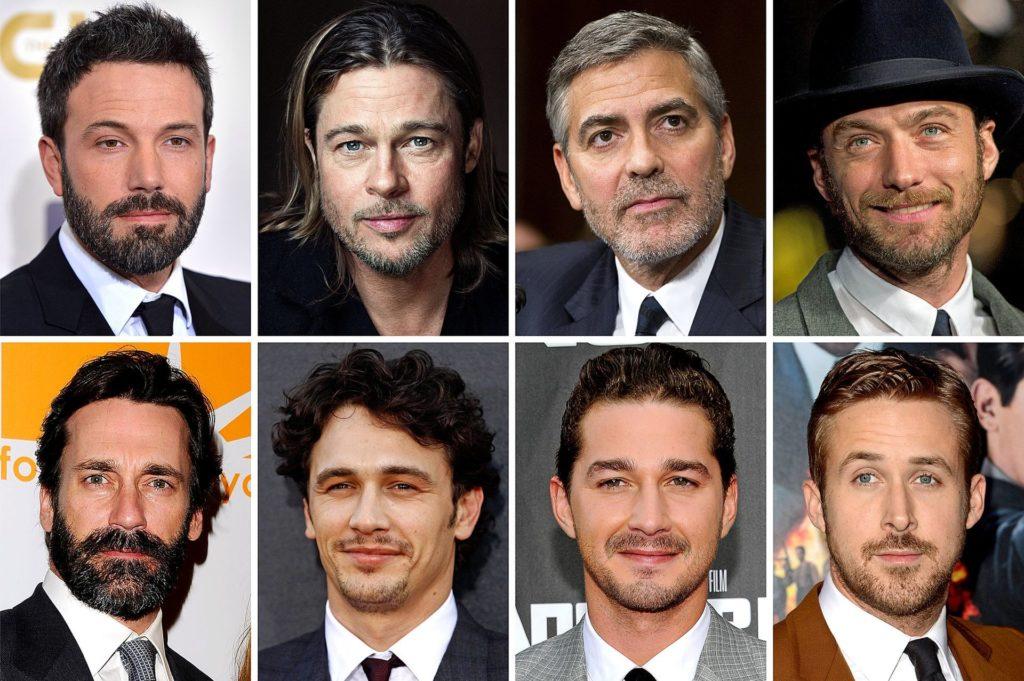 знаменитости с бородой