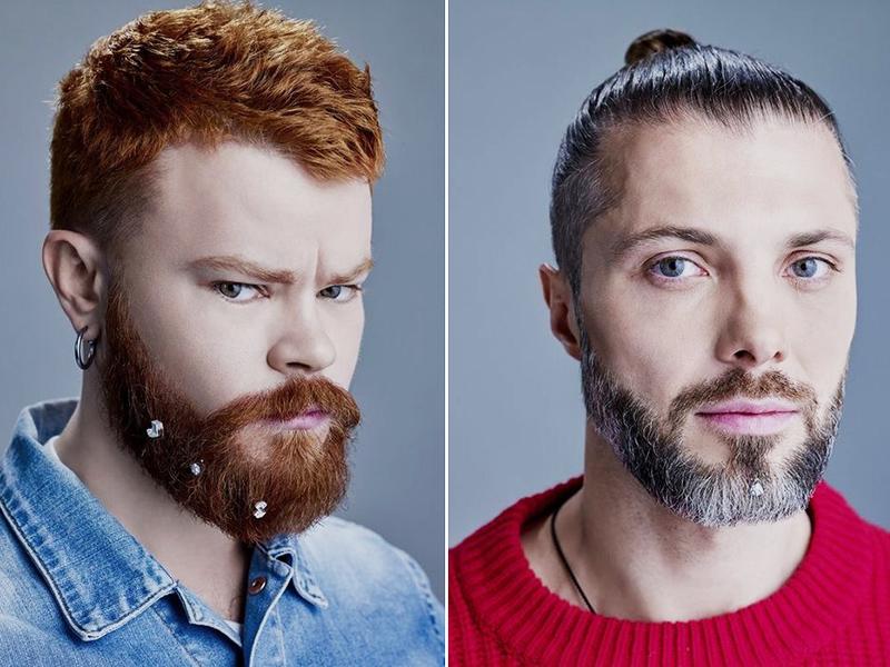 Клипсы для бороды