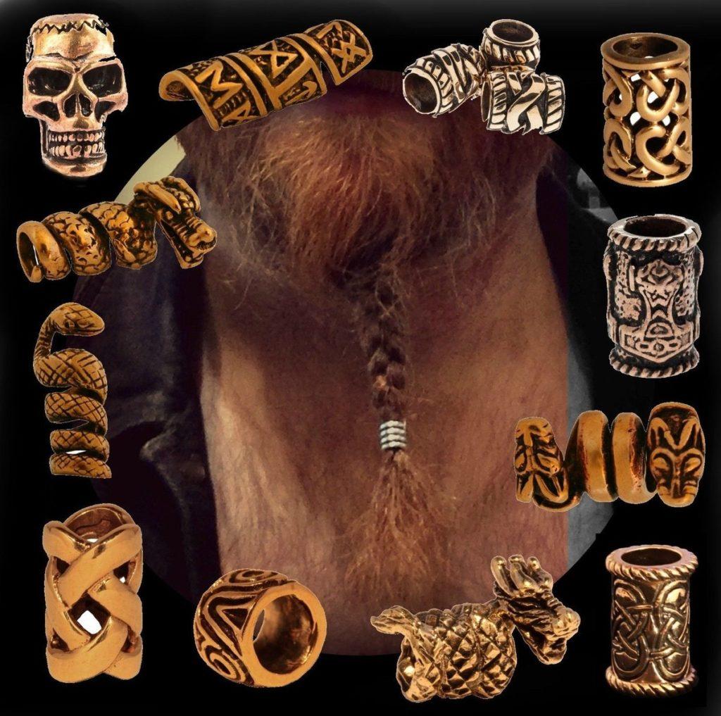 украшения для бороды