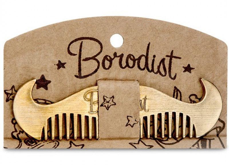Borodist mustache comb - расческа для усов