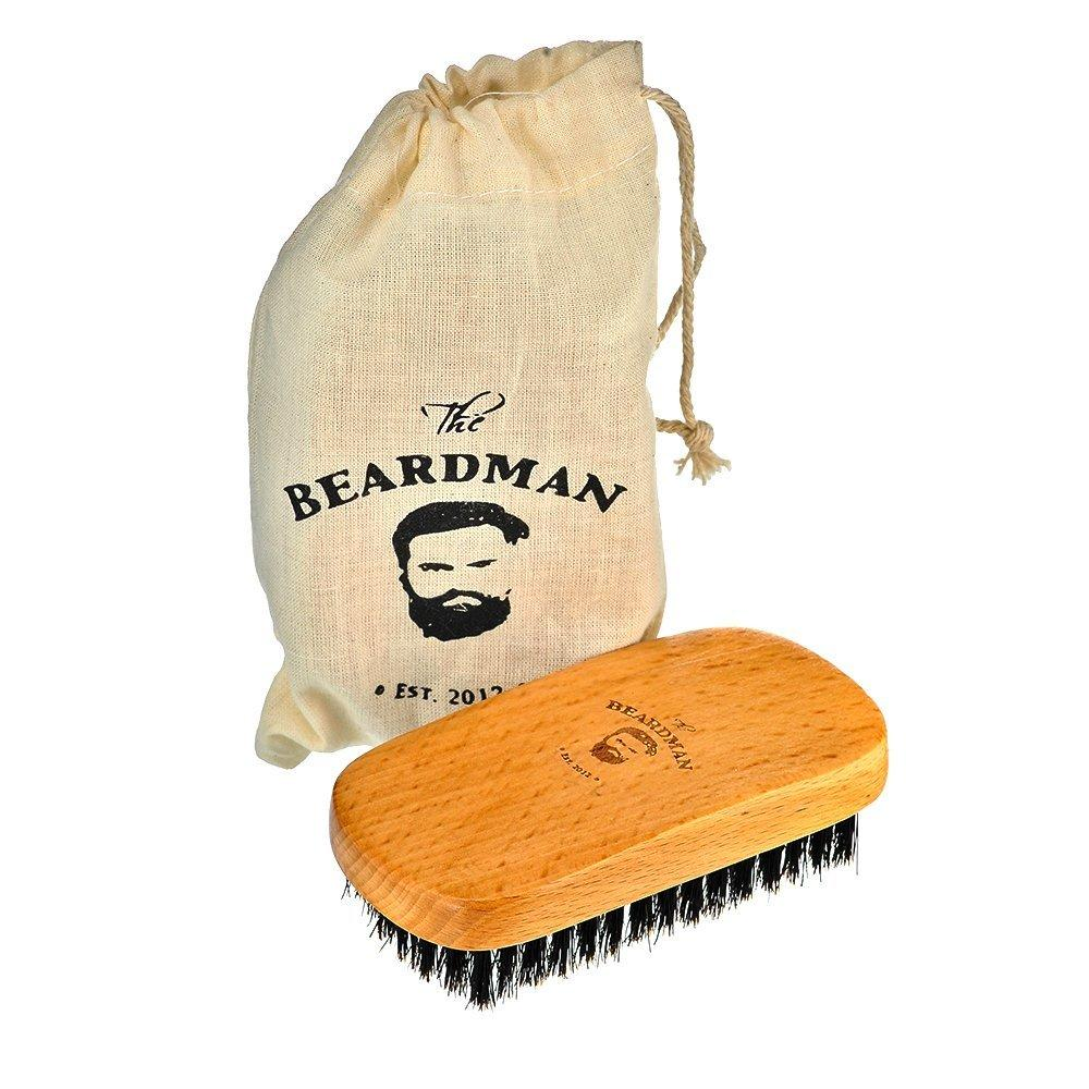 The beardman best beard hair brush