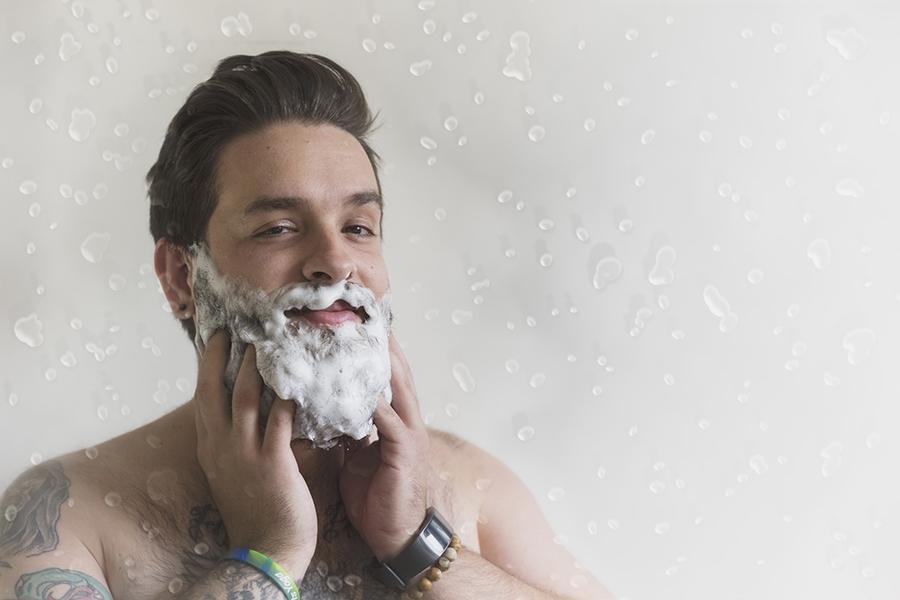 Дегтярное мыло для бороды