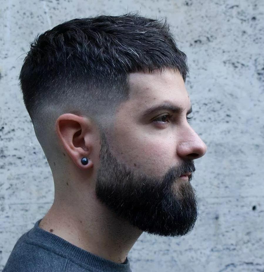 Полубокс с бородой