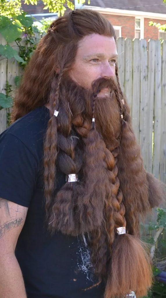 косы викинга