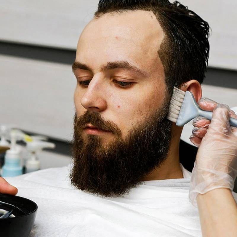 Тонирование бороды