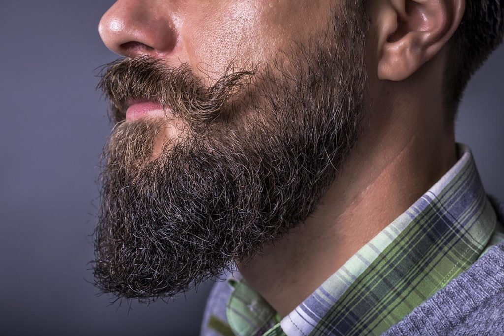 Бакенбарды с бородой