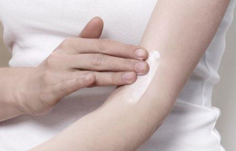 Тест на аллергию на сгибе локтя