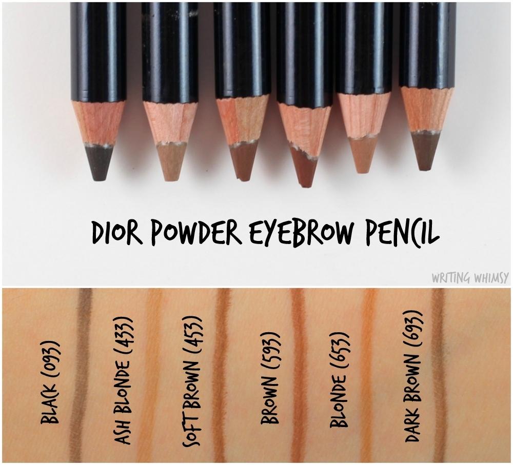 Dior powder eyebrow pensil