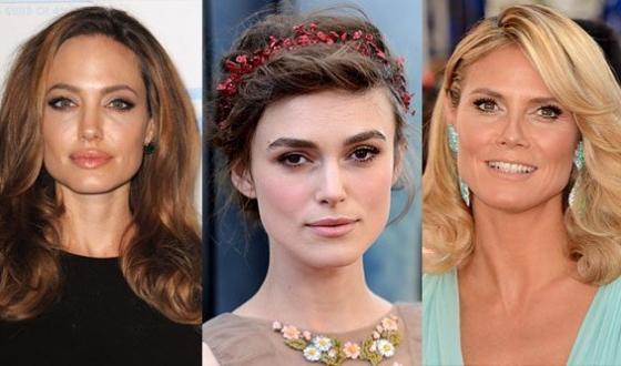 известные актрисы с квадратным лицом
