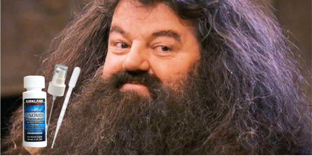 густая борода с миноксидилом