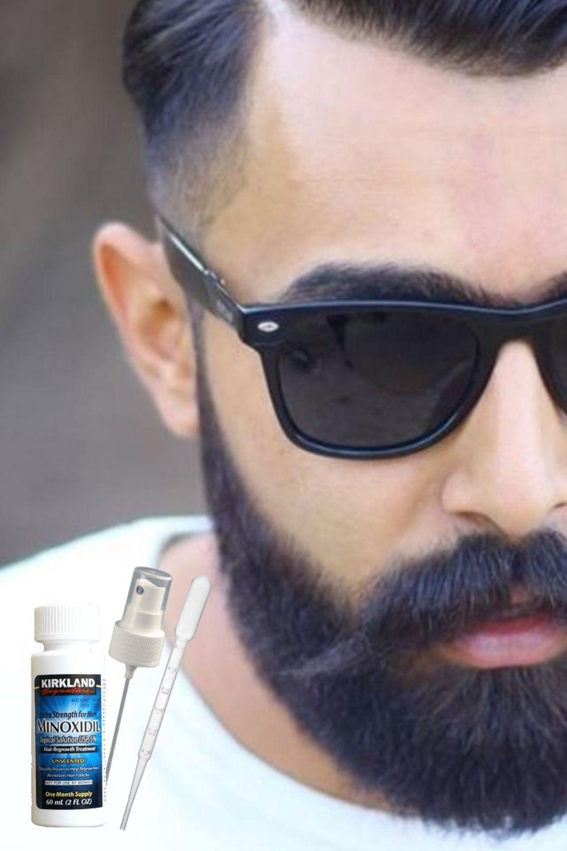 борода и миноксидил