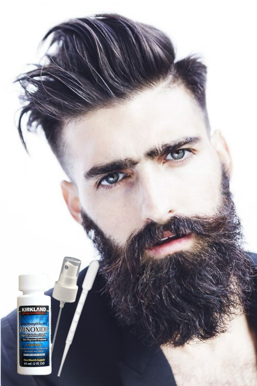 Аптечные и народные активаторы роста волос на бороде