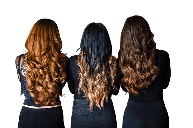 Накладные волосы на заколках HairExtension